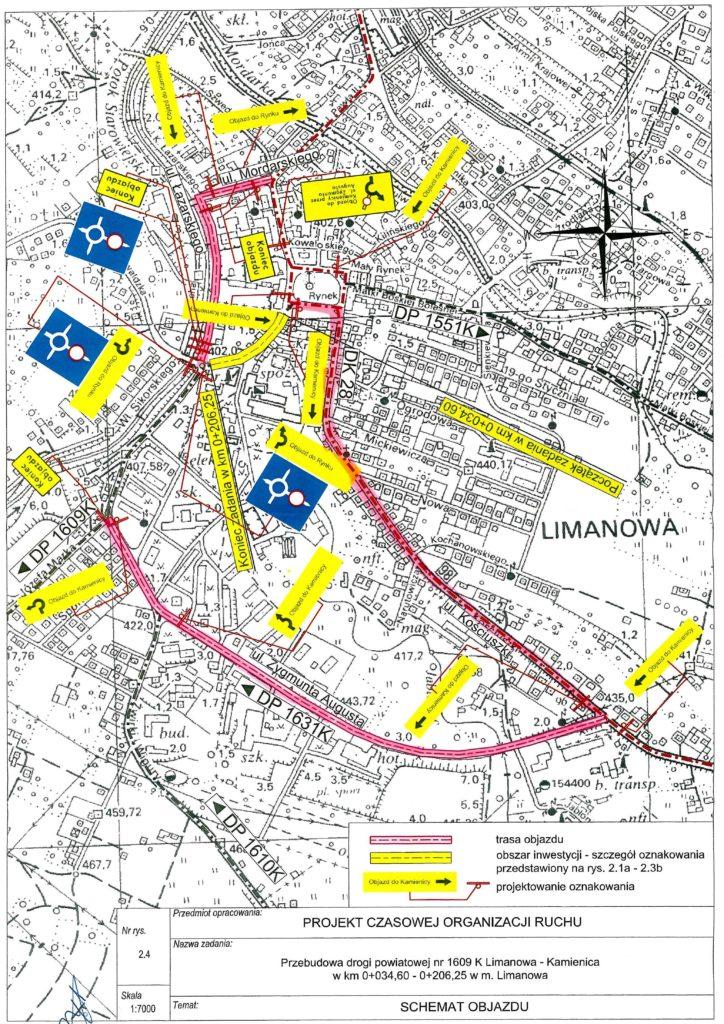 Mapa remontu drogi