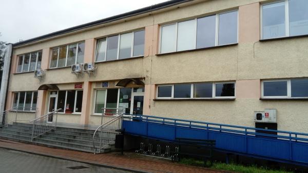 Budynek Samodzielnego Publicznego Zakładu Opieki Zdrowotnej Vital-Med w Mszanie Dolnej