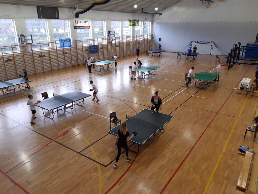 zdjęcie - rozgrywki w tenisa stołowego