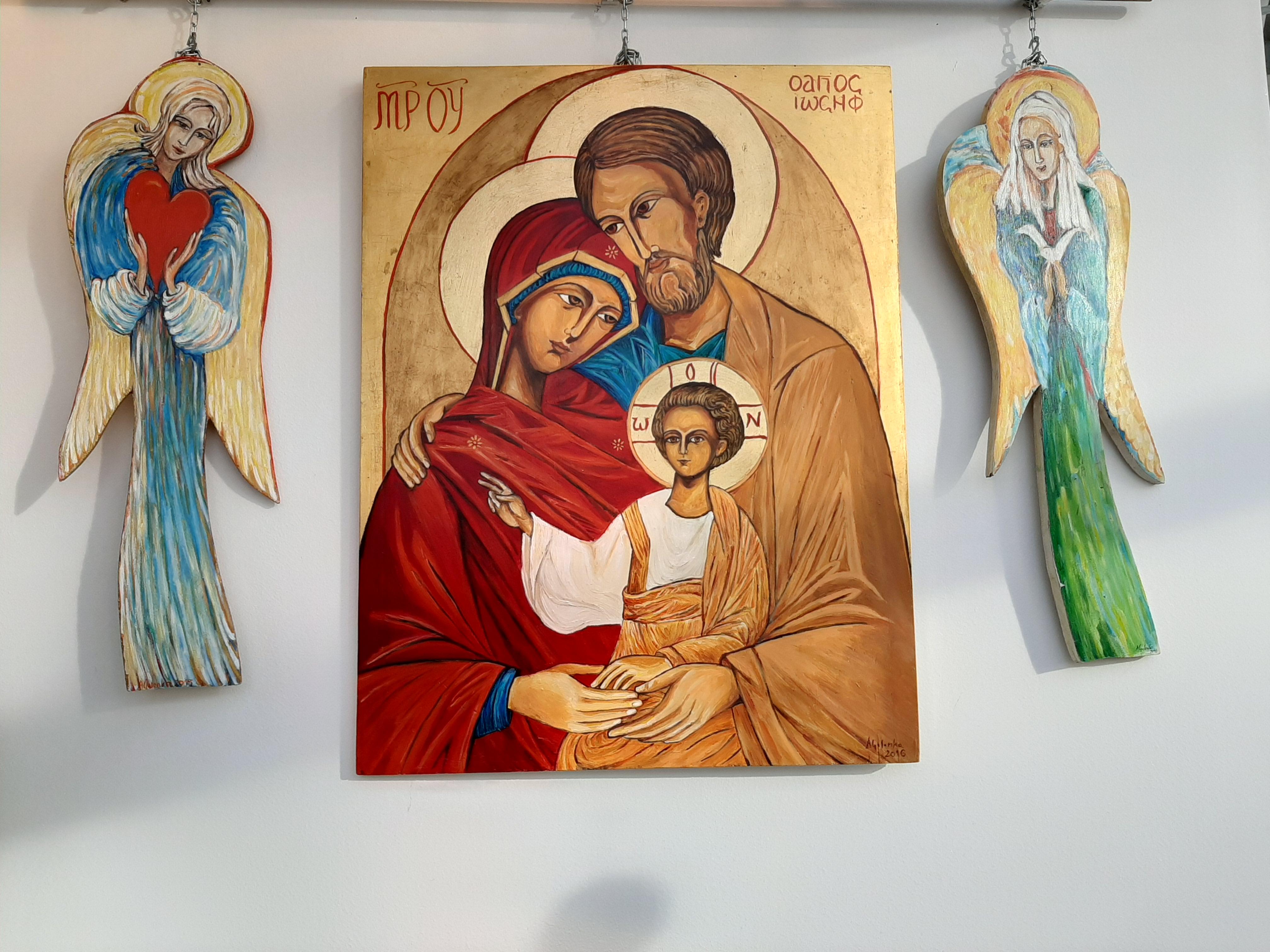 wystawa prac Anny Golonki w Powiatowym Centrum Informacji Turystycznej