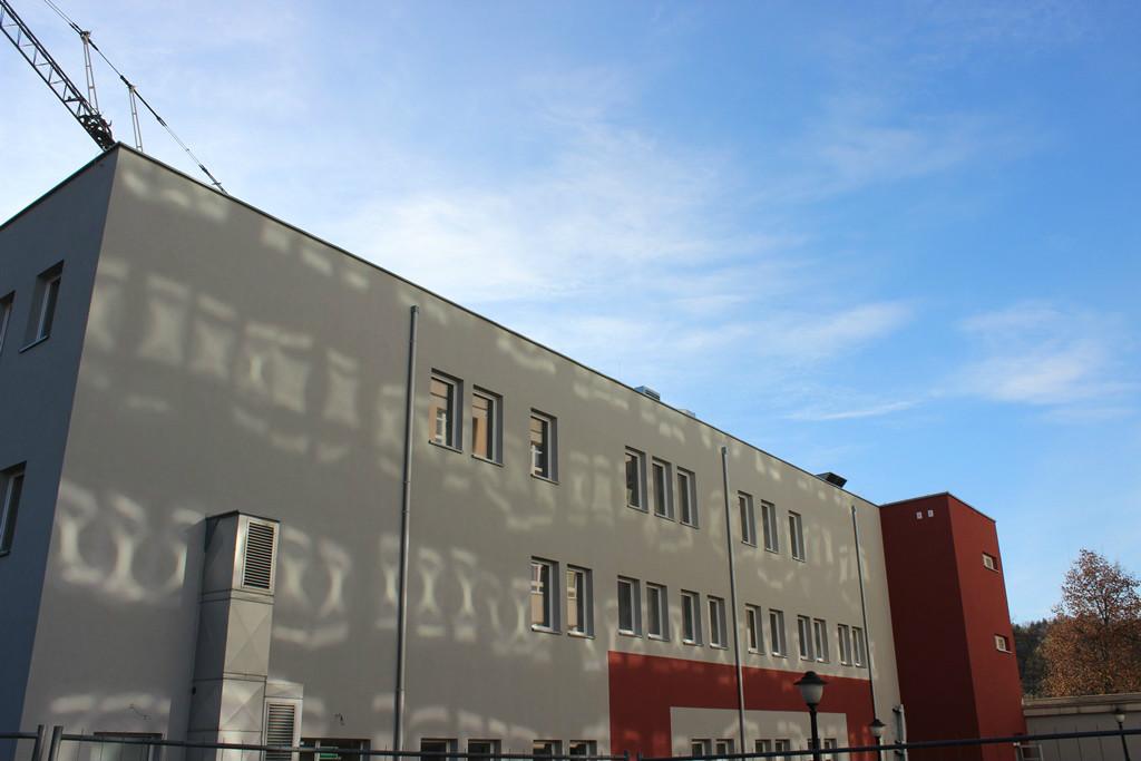 zdjęcie budynku nowego oddziału geriatrycznego