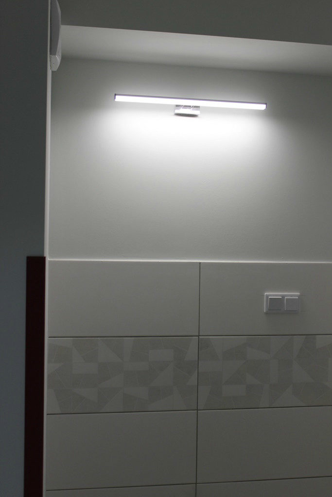 zdjęcie - nowy oddział geriatryczny w limanowskim szpitalu - wykończona łazienka