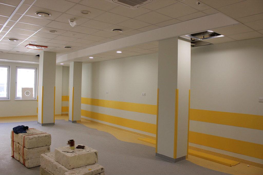 zdjęcie - nowy oddział geriatryczny w limanowskim szpitalu wnętrzr