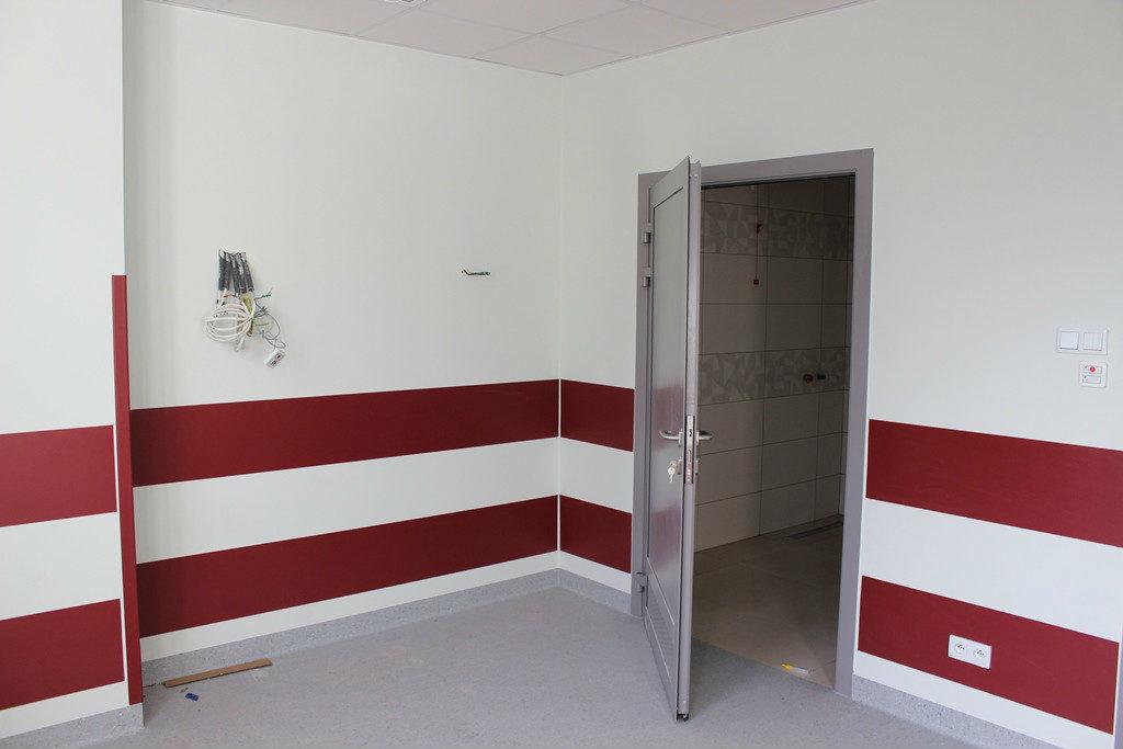 zdjęcie - nowy oddział geriatryczny w limanowskim szpitalu wnętrze