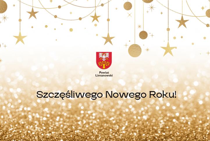 Plakat Szczęsliwego Nowego Roku