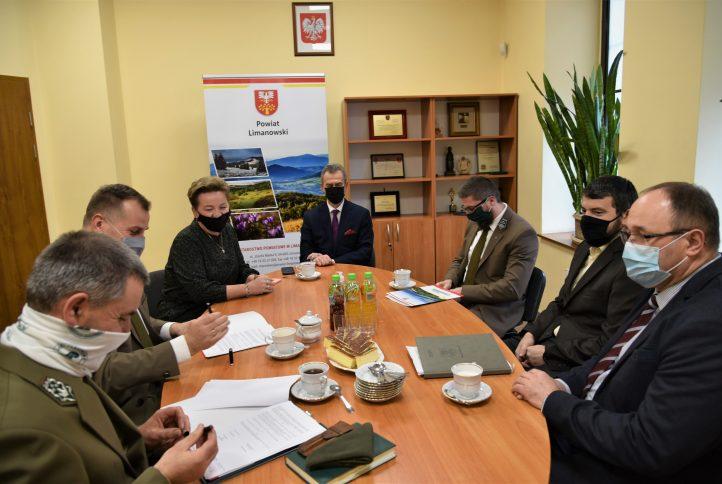 spotkanie w sprawie podpisania porozumienia