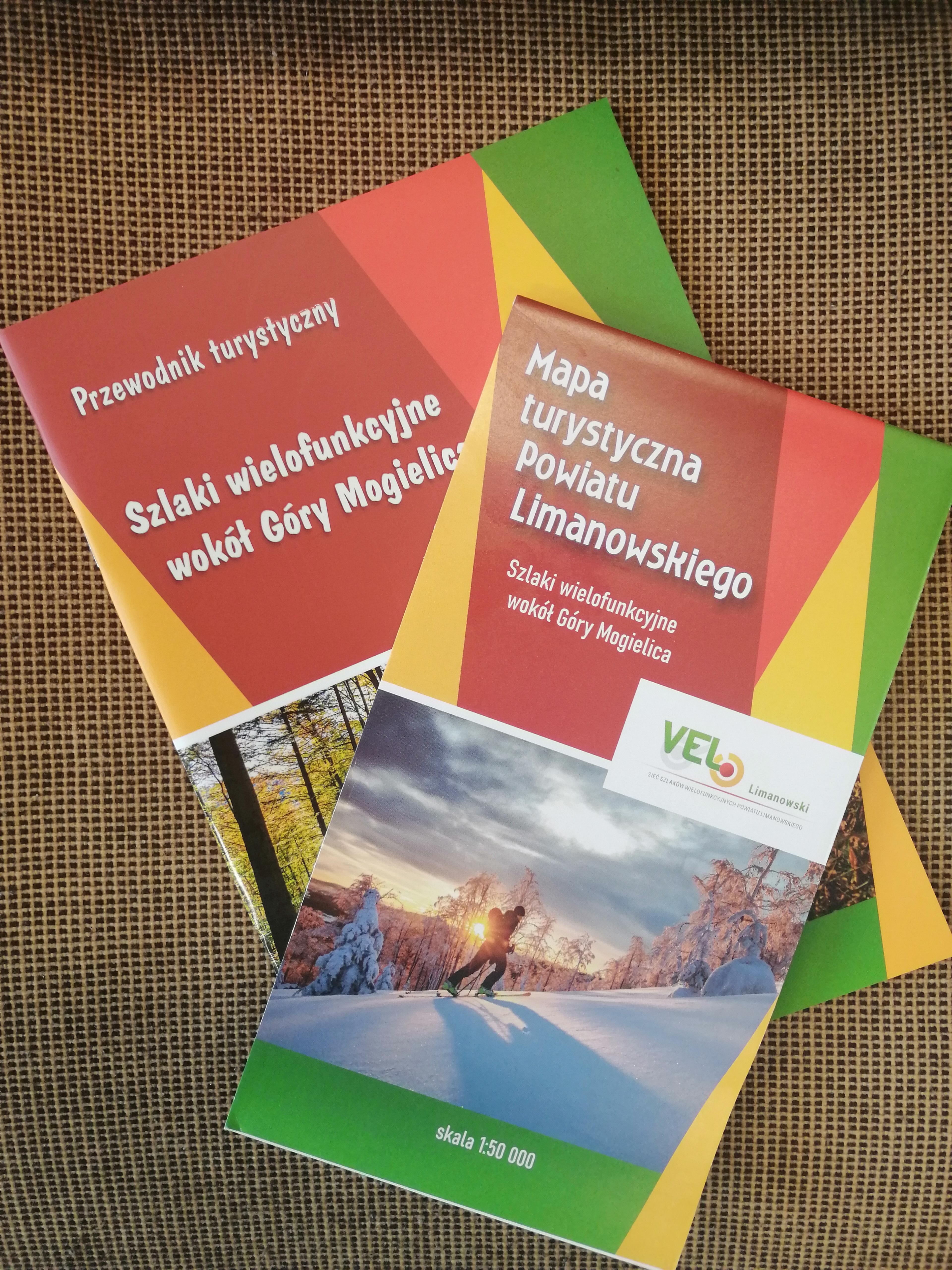 publikacje - Szlaki wielofunkcyjne wokół Góry Mogielica