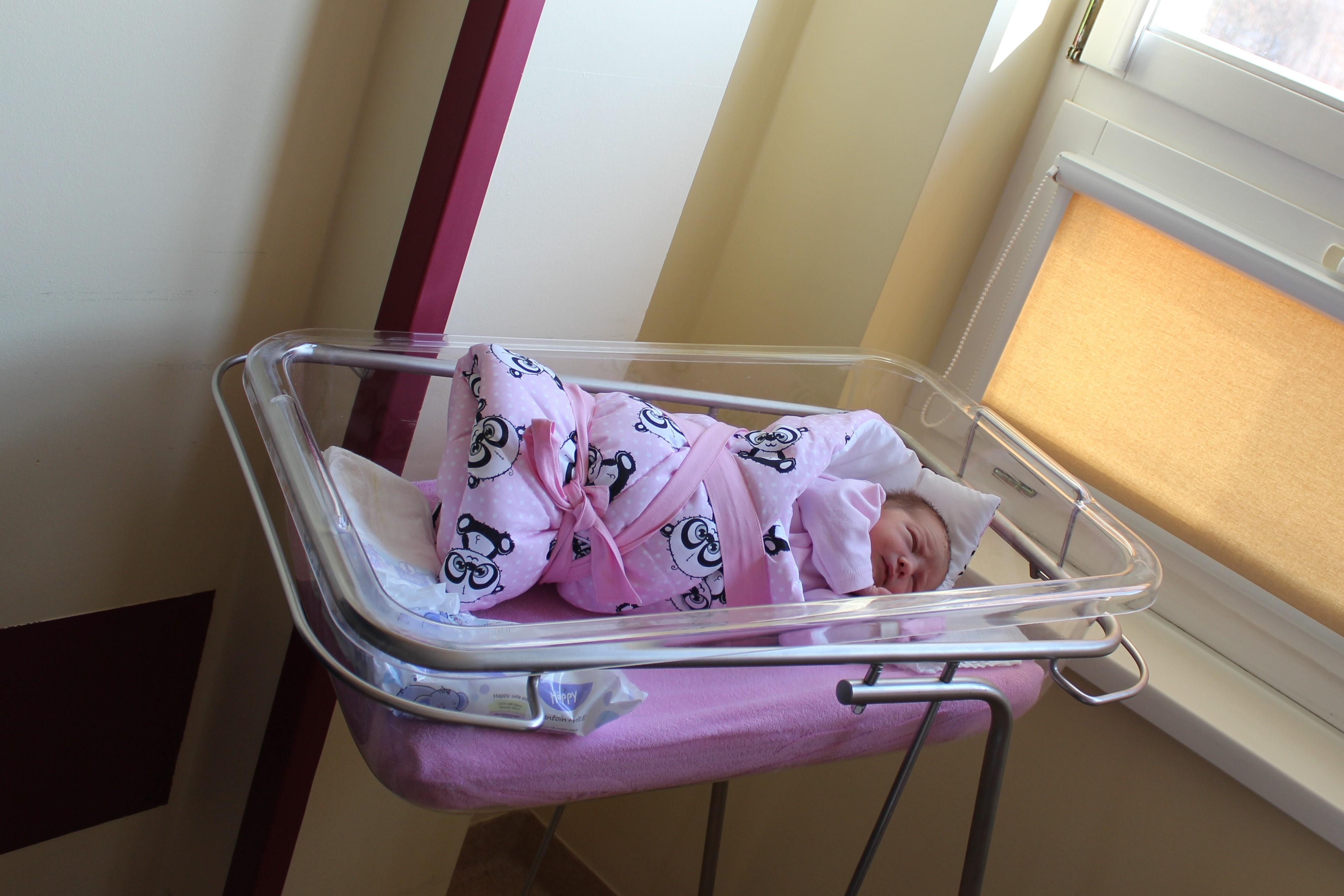 Pierwsze narodzone dziecko w powiecie limanowskim w 2021 roku