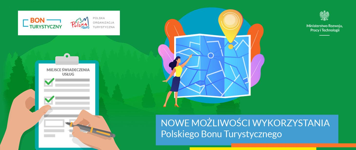 grafika - Polski Bon Turystyczny