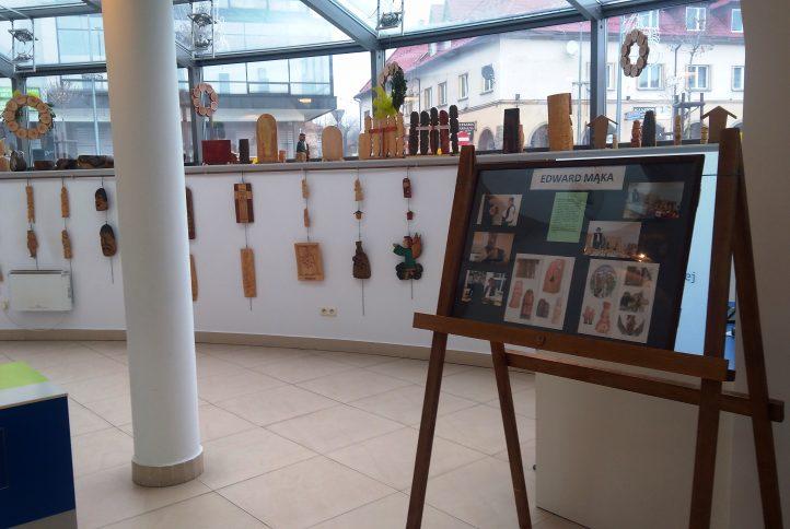 Wystawa Edwarda Mąki