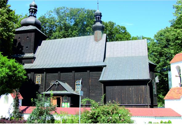 Kościół Łososina G. - widok z zewnątrz