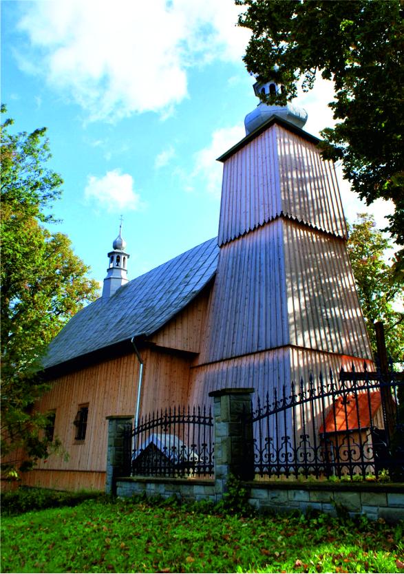 Kościół Łukowica - zdjecie z zewnątrz