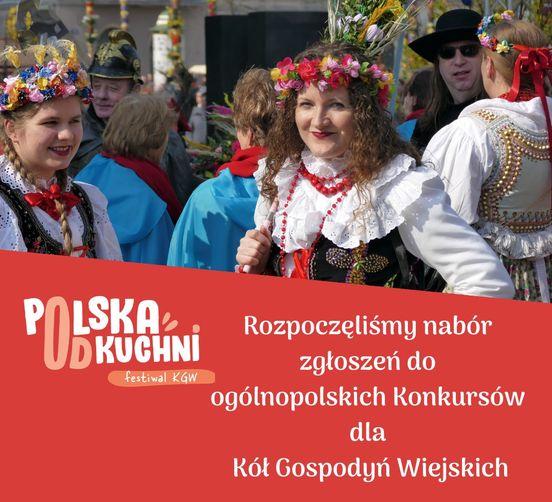 grafika - festiwal KGW Polska od kuchni