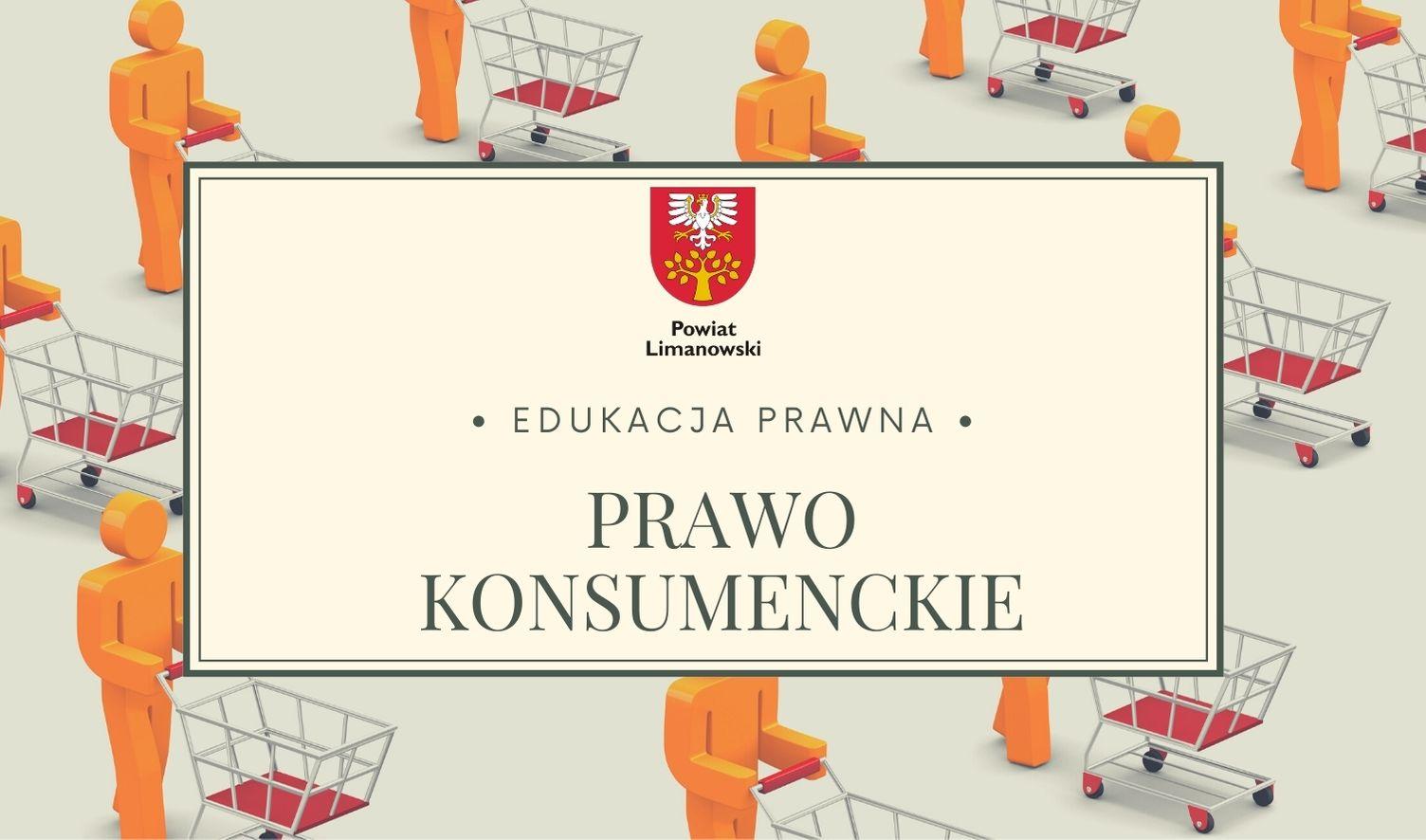 Plakat - edukacja prawna - prawo konsumenckie
