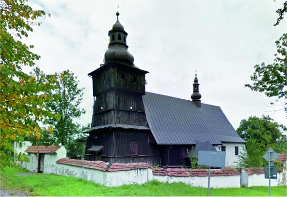 Kościół w Skrzydlnej - zdjęcie z zewnątrz