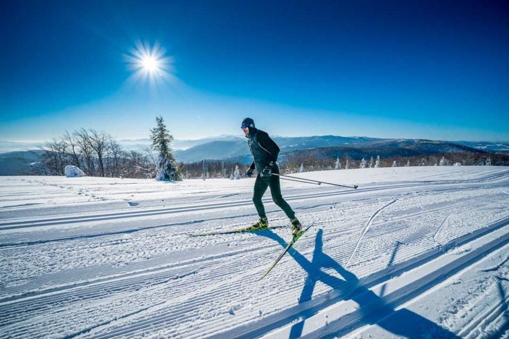 Trasy wokół góry Mogielica atrakcje zimowe