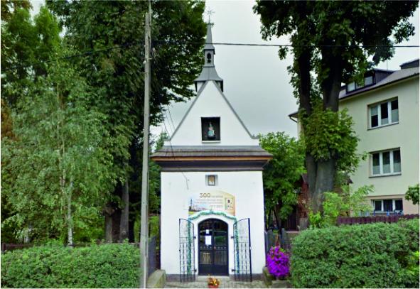 Kapliczka - widok z zewnątrz