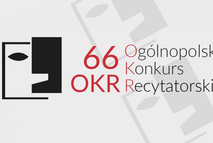 66. Ogólnopolski Konkurs Recytatorski - logo