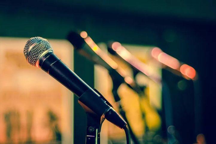 Zdięcie mikrofonu