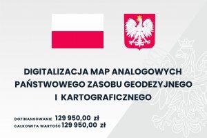 Tablica informująca o dofinansowaniu z budżetu państwa